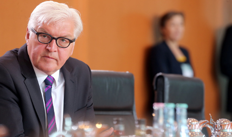 Steinmeier considers weapons exports to Iraq
