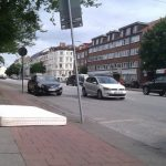 This one takes the biscuit - who left a mattress there?Photo: thingsonbikelanes/tumblr