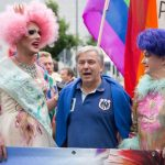At a parade in Berlin for the gay community in 2014.Photo: DPA