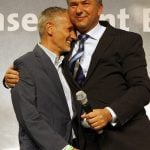 Wowereit with his partner Jörn Kubicki in 2006Photo: DPA