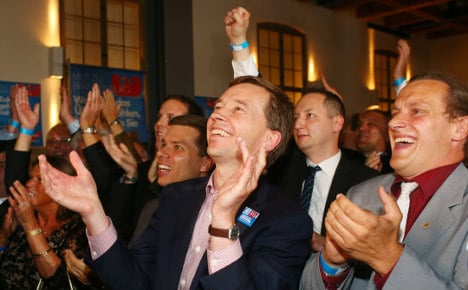 One in 10 voters support anti-euro AfD