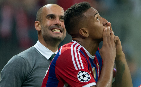 Boateng delivers Bayern 1-0 win over Man City