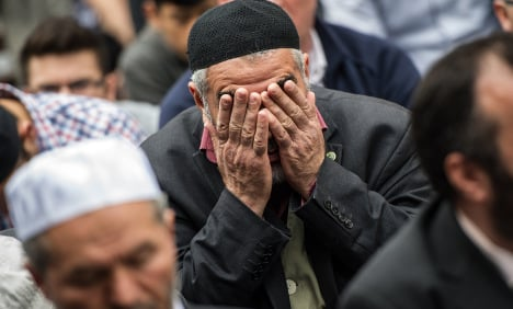 German Muslims rally against extremism
