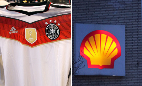 Minister attacks Shell's oil and Adidas' jerseys