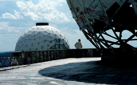 Berlin spy station sees tourism boom