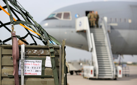 Germany can't get Isis mission off the ground