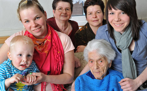 Germany's oldest woman dies at 112