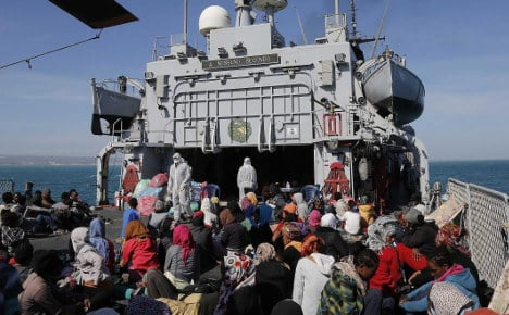 Germany to help with Mediterranean refugees
