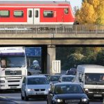<b>The train says <i>tuff-tuff</i> and cars go <i>brumm</i>:</b> There are no <i>choo-choos</i> in Germany. Here, trains puff along the rails, but the fast ones go <i>rattatatum</i> while the cars hum along with their <i>brumms</i>, until someone <i>brumms</i> in front of them. Then their horns go <i>tut tut</i>, but pronounced <i>toot</i>. Photo: DPA