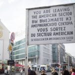 <b> Checkpoint Charlie:</b> If you can get to Checkpoint Charlie through the crowds of phoney soldiers and €5 old-timey visa stamps, there's absolutely no reason you shouldn't enjoy what ambiance is left without paying a cent.Photo: DPA