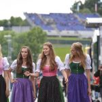 ...but its hard to beat the traditional dirndl. Photo: DPA
