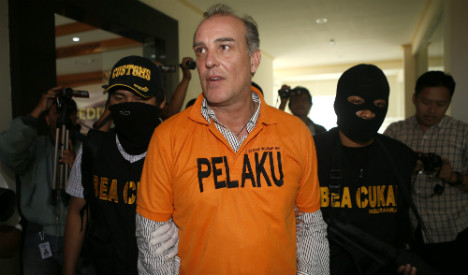 German arrested in Bali for cocaine haul