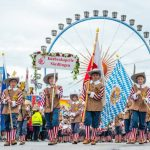 A boys' choir takes part in the Oktoberfest opening parade.Photo: DPA