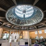 """<b> Bundestag:</b> A visit to the Bundestag including climbing up through the famous glass dome designed by British architect Norman Foster is free. Will you look out at the city or in towards the heart of German democracy? <a href=""""http://www.bundestag.de/htdocs_e/visits/kuppel/kupp/245686"""">Register for a time slot here</a>.Photo: <a href=""""http://www.shutterstock.com"""">Shutterstock</a>"""