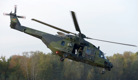 German helicopter fleet 'not fit for Nato'