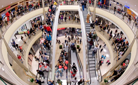 Spring back in German consumers' step?