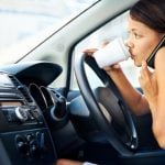 Car phone use OK when stopped at lights