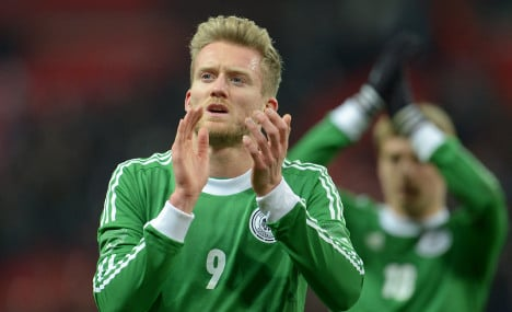 Schürrle out of qualifier, Kroos goes Scottish