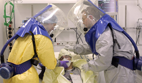 Germany has 50 beds ready for Ebola cases