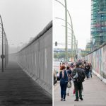 The East Side Gallery in 1990 before this former stretch of the Wall became a focal point for artists.  Photo: Eberhard Klöppel/Lukas Schulze
