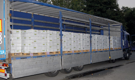 330 kg of heroin found in pickle shipment