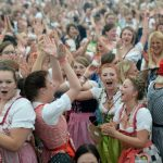 This year's Oktoberfest welcomed 6.3 million visitors. A good turn out, but not the record. That was set at 7.1 million back in 1985. Photo: DPA