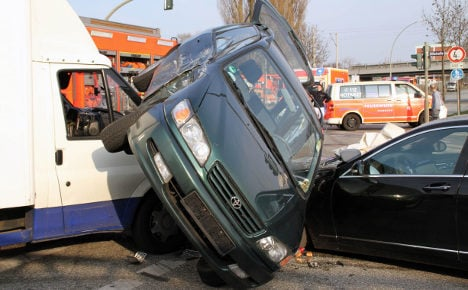 Which city is the worst for car crashes?