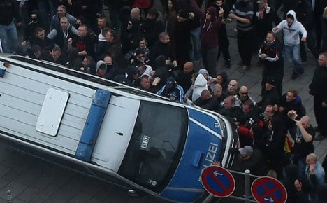 Hooligans: We're kind of sorry for Cologne chaos
