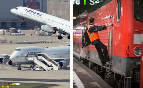 Train drivers mull action as pilots strike truce