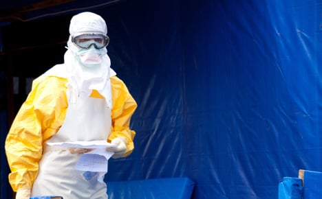 German bikes to carry Ebola lab samples