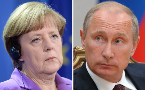 World welcomes Merkel's face-off with Putin