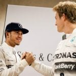F1 Champ: No tension with German rival now