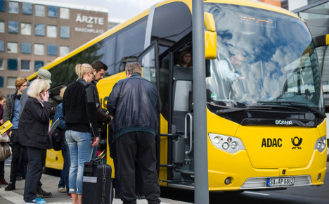 Stop the bus, ADAC wants to get off