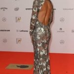 Barbara Becker, who was once married to German tennis star Boris Becker, showed off her assets in one of our favourite gowns of the evening. Photo: DPA
