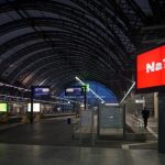 No one to read the signs in Dresden's central station.Photo: DPA