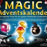 """<b>24 days of magic:</b> A new magic trick to learn every day! We hope that the last door reveals the magic trick where you get to take away everyone else's Christmas presents and claim them as your own. Photo: <a href=""""http://www.kosmos.de/produktdetail-909-909/Magic_Advenskalender-7329/"""">kosmos.de</a>"""