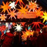 <b>Hang a shining star in your window:</b> The paper stars are at every Christmas market and available in every shop. Hang one in your window to show your neighbours that you're in the festive spirit. Photo: DPA