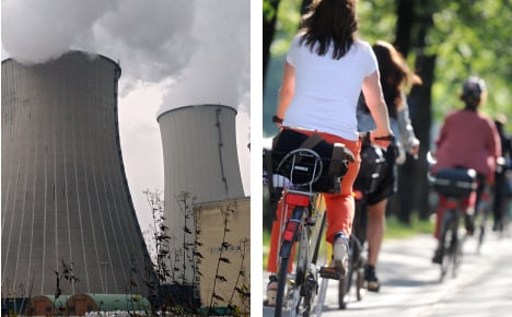 Cycling, insulation and less coal to fight CO2