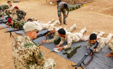 Germany wants to escalate Isis fight aid