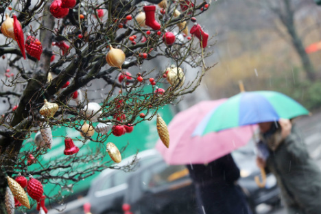 Wet, windy, stormy Christmas in store