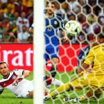 """<b>Götz sei dank</b>: We can't talk about the year Germany had without mentioning <a href=""""http://www.thelocal.de/20140713/germany-beat-argentina-1-0-in-football-world-cup-final-brazil"""">winning the World Cup in Brazil</a> thanks to Mario Götze's goal that put <i>Die Mannschaft</i> up 1-0 over opponents Argentina in the 113th minute of play. The phrase is a play on the German <i>Gott sei dank</i> or <i>thanks be to God</i>. <i>Thanks be to Götze</i> indeed. Photo: DPA"""