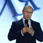 """<b>Russlandversteher</b>: In the number three spot, a <i>Russian empathizer</i> was the word that emerged for politicians who were understanding to the stunts of Russian President Vladimir Putin, <a href=""""http://www.thelocal.de/20140516/ex-german-chancellor-helmut-schmidt-slams-eu-over-ukraine"""">including two former chancellors, Helmut Schmidt and Gerhard Schröder</a>, both of the Social Democratic Party. Photo: DPA"""