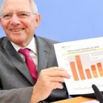 """<b>Schwarze Null</b>: The <i>black zero</i> made the list thanks to <a href=""""http://www.thelocal.de/20141128/bundestag-passes-debt-free-budget-for-2015"""">Finance Minister Wolfgang Schäuble finally fulfilling</a> his career-long dream of a federal budget that acquired no new debt. Photo: DPA"""