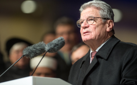 Gauck tells Muslims 'we are all Germany'