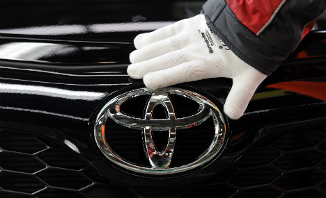 Volkswagen bested by Toyota in car sales