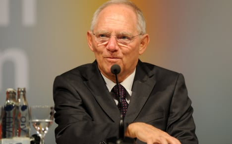 Schäuble gets his balanced budget early