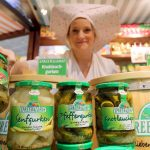 <b>Spreewälder Gurken</b> – the unique soil and climate in Brandenburg's Spreewald region produce the taste and texture of these unique gherkins, which remained a regional specialty even under Communism and were made famous in the film Good-Bye Lenin.Photo: DPA