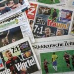 <b>The News:</b> Unlike people in other countries we could mention, Germans are still paying for pieces of paper with the news written on them, and other such anachronisms - to the tune of €57 each month, or 2.5 percent of spending.Photo: DPA