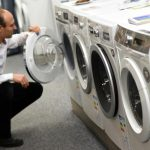 <b>Home appliances:</b> take your time when picking out a washing machine - chances are you'll be spending 5.5 percent of your monthly total on it and its fellow white goods.Photo: DPA