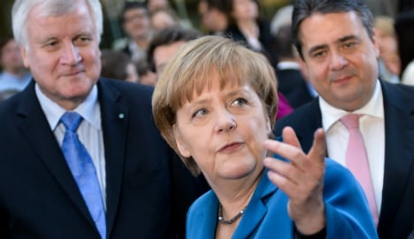 Germans love Grand Coalition government